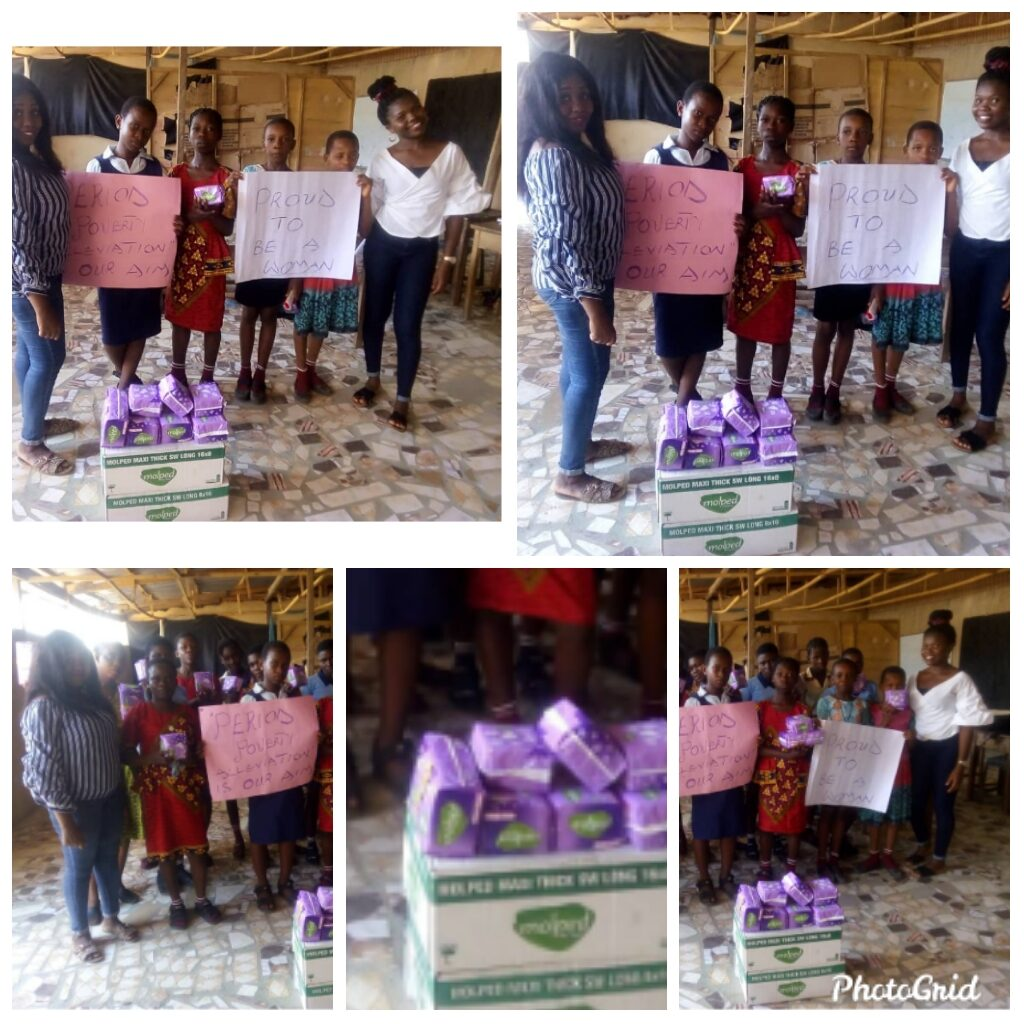 PERIOD POVERTY alleviation in Adolescents, Awareness and Campaign