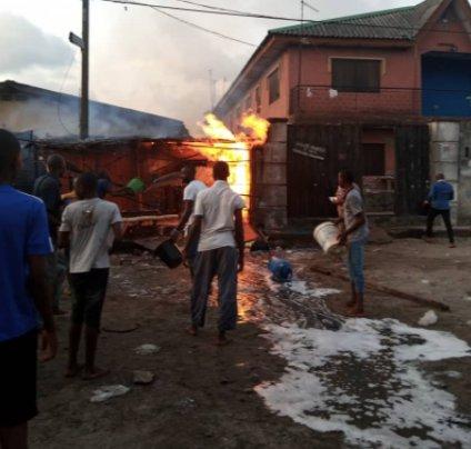 Gas Explosion In Amuwo-Odofin, Lagos